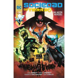 Comic Sociedad de Tierra 2 Una Nacion Indivisible ECC
