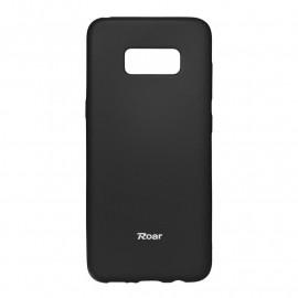 Funda Roar Colorful Jelly Case Negra Samsung S8 Plus