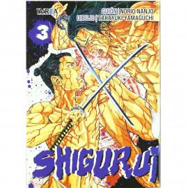 Manga Shigurui Ivrea 03