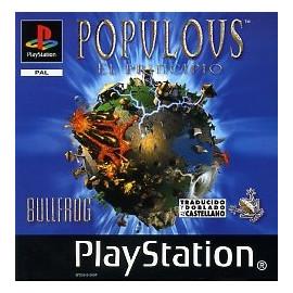 Populous El Principio PSX (SP)