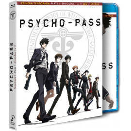 Psycho Pass Temporada 1 Parte 1 BluRay (SP)