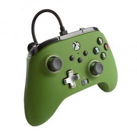 Mando con Cable Mejorado Power A Verde Xbox Series X/One y PC