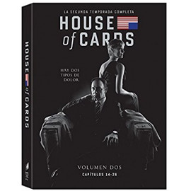 House of Cards Temporada 2 DVD