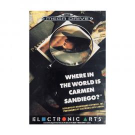 Where in the World is Carmen Sandiego Mega Drive A