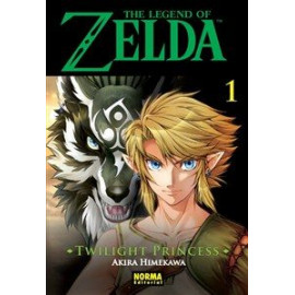 Manga The Legend of Zelda Twilight Princess Norma 01