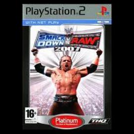 WWE SmackDown vs. Raw 2007 Platinum PS2 (SP)