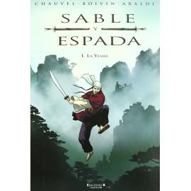 Comic Sable y Espada Yesha Ediciones B