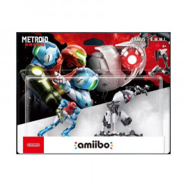 Pack Amiibo Metroid Dread Samus y E.M.M.I