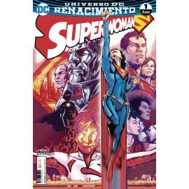 Comic SuperWoman Renacimiento DC ECC