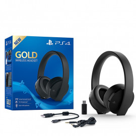 Auriculares Gaming Gold Wireless Sony PS4