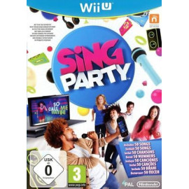 Sing Party Wii U (UK)