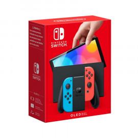 Nintendo Switch Modelo OLED Azul Neon/Rojo Neon