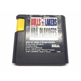 Nba Bulls vs Lakers Sega Mega Drive