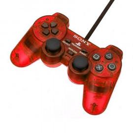 Dual Shock 2 Rojo Transparente PS2