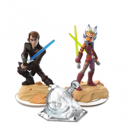 Disney Infinity Twilight Of The Republic Play Set Crystal