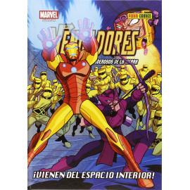 Comic Marvel Los Vengadores Vienen del Espacio Interior Panini