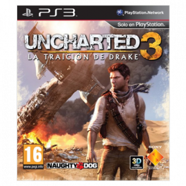 Uncharted 3 PS3 (SP)