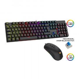 Pack Raton + Teclado Mecanico Gaming BlackFire BFX-550