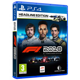 Formula 1 2018 Headline Edition PS4 (SP)