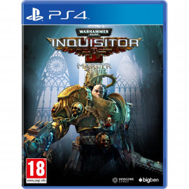 Warhammer 40.000 Inquisitor Martyr PS4 (SP)