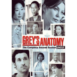 Anatomia de Grey Temporada 2 Parte 1 DVD