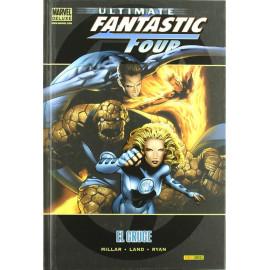 Comic Marvel Deluxe Ultimate Fantastic Four El Cruce Panini