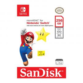 Tarjeta de Memoria Micro SDXC Sandisk Nintendo Switch 256GB